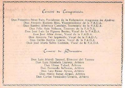 Boletín del XVIII Campeonato de España de Ajedrez (5)