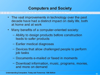 Benefits of a Computer-Oriented Society