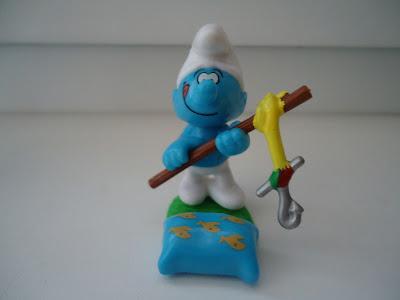 Fisherman Smurf