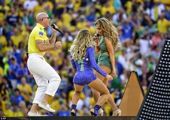 Gambar misteri Jennifer Lopez di Pembukaan Piala Dunia 2014 yang ...
