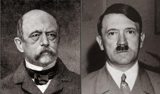 Otto von Bismark VS Alfred Hitler - Magazine cover