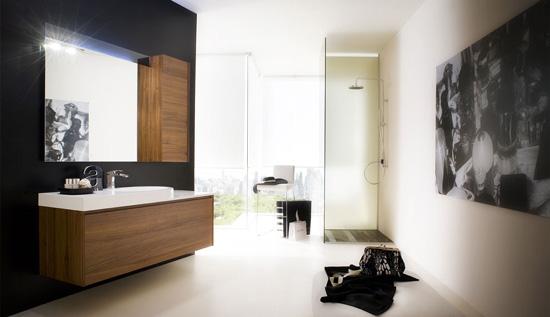 Decoracion De Baños Color Beige:del baño color beige se utiliza en los espejos de baño gabinetes de