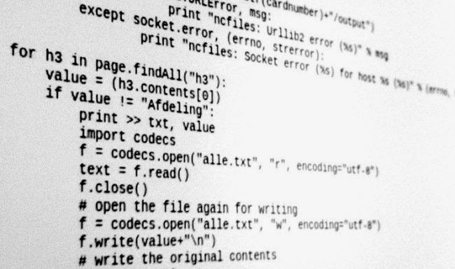 Código fuente de software GNU/Linux