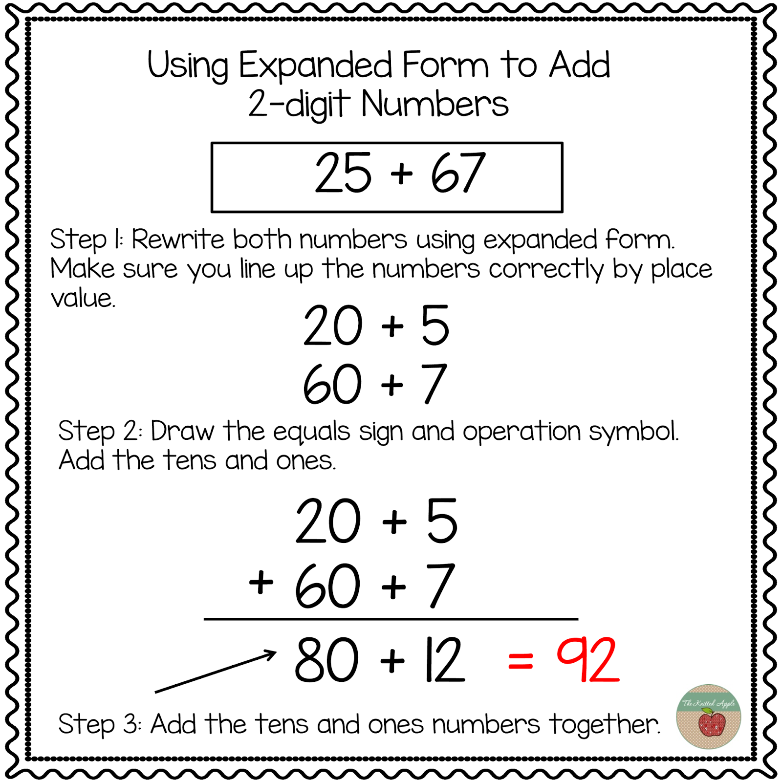 Addition With Expanded Notation Problems Worksheet Printable – Expanded Form Multiplication Worksheets