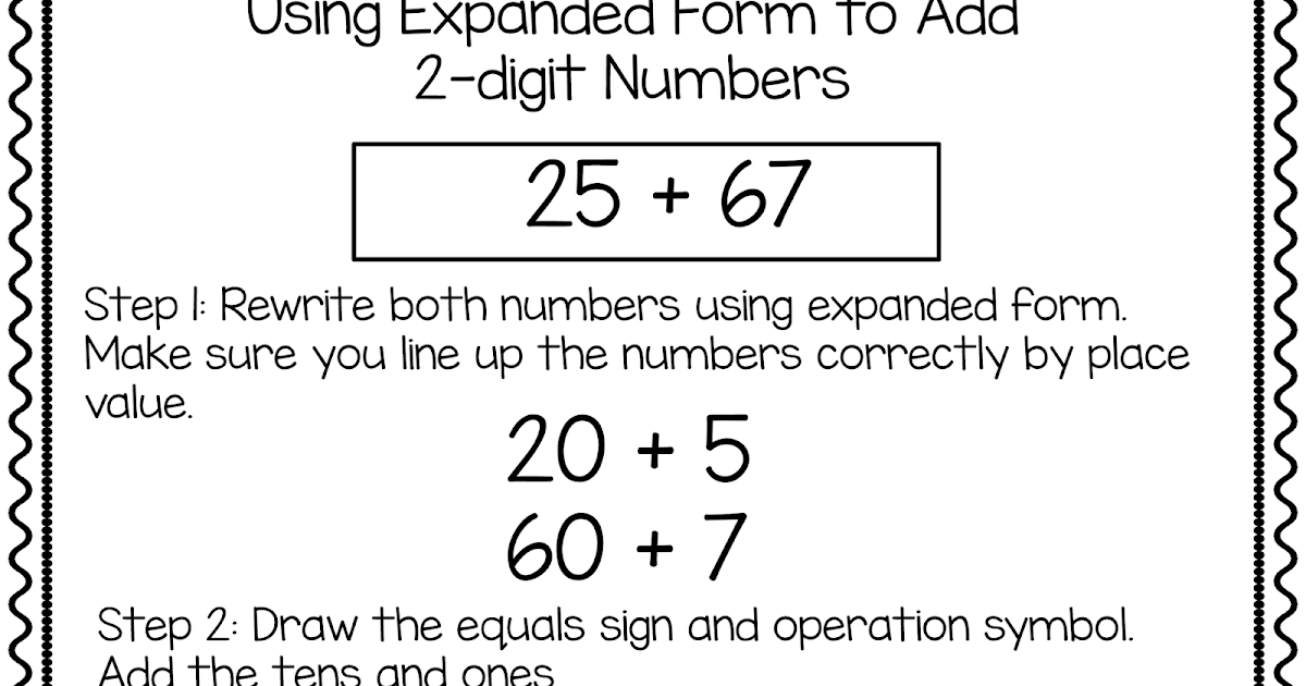 Whos Who And Whos New Using Expanded Notation To Regroup