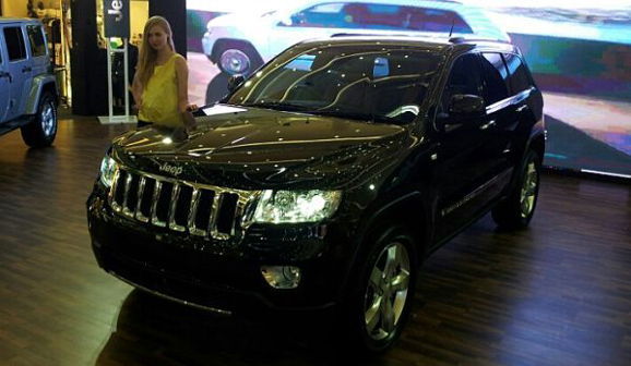 Jeep Grand Cherokee 3.6L Overland Limited