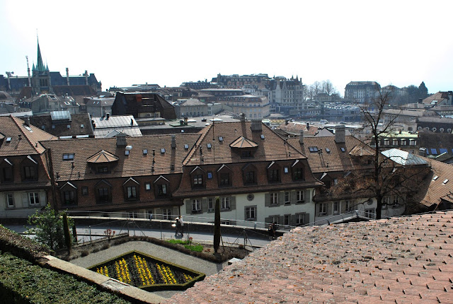 Lausanne panorama