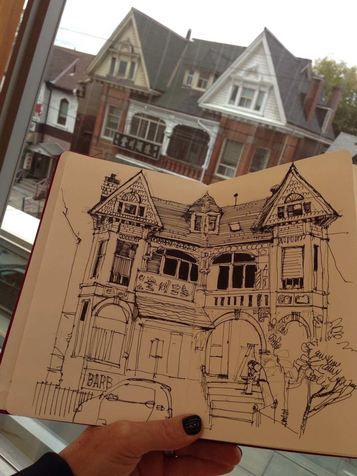 Six hours to kill | Urban Sketchers