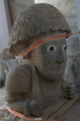 Tayinat Colossal Statue