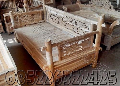bale bale model bambu jati jepara