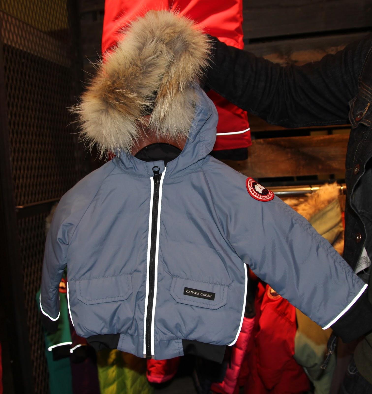 Canada Goose Baby SnowSuit Frontera popular