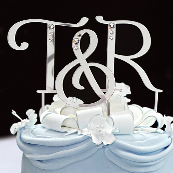 Wedding Cake Toppers Initials
