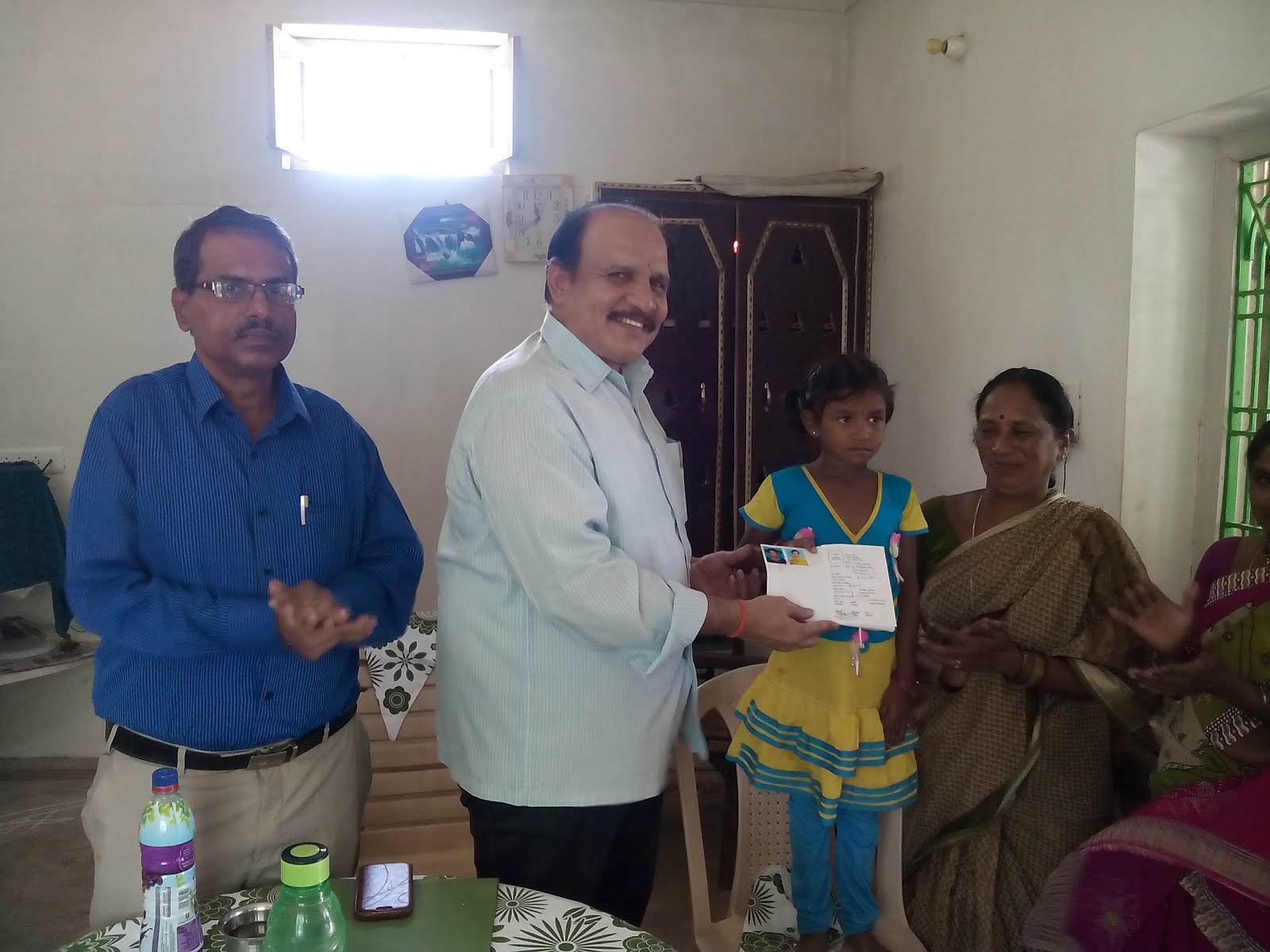 CPMG visit datd 08.07.15 to PUNABAKA BO a/w Pellakuru SO of Gudur Dn