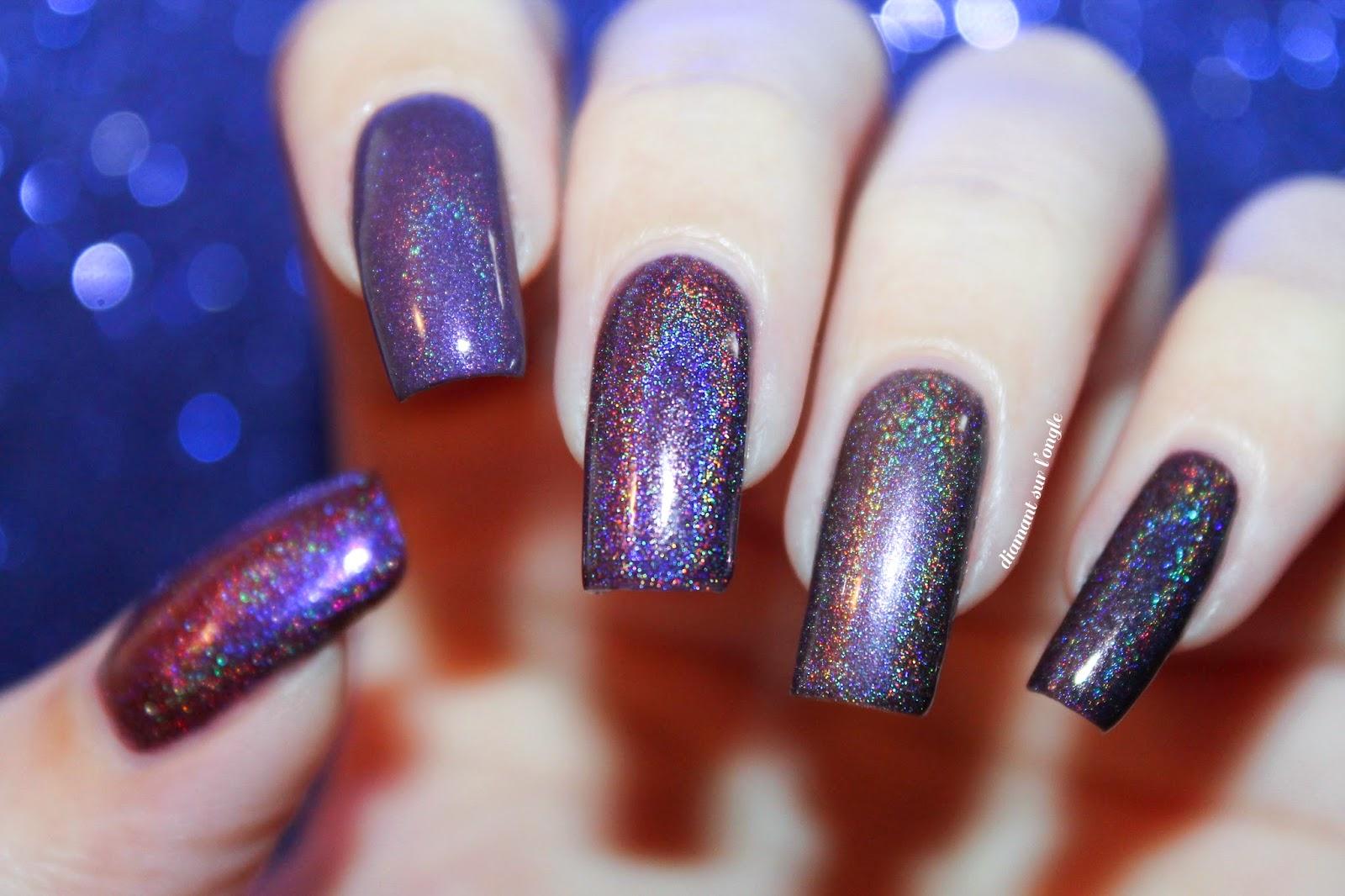 Purples Enchanted Polish Comparative
