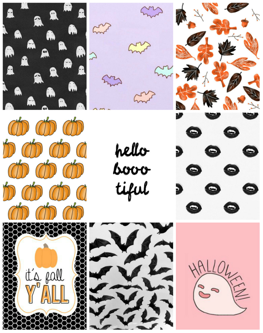 Wonderful Wallpaper Halloween Pastel - halloween%2Bcollage  Perfect Image Reference_14618.png