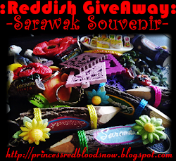 Reddish GiveAway : Saya Nak Sarawak Souvenir!