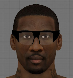 NBA 2K13 Amar'e Stoudemire HD Cyber Face Patch