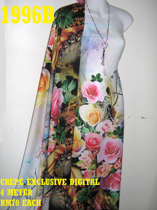 CP 1996B: CREPE EXCLUSIVE DIGITAL PRINTED, 4 METER