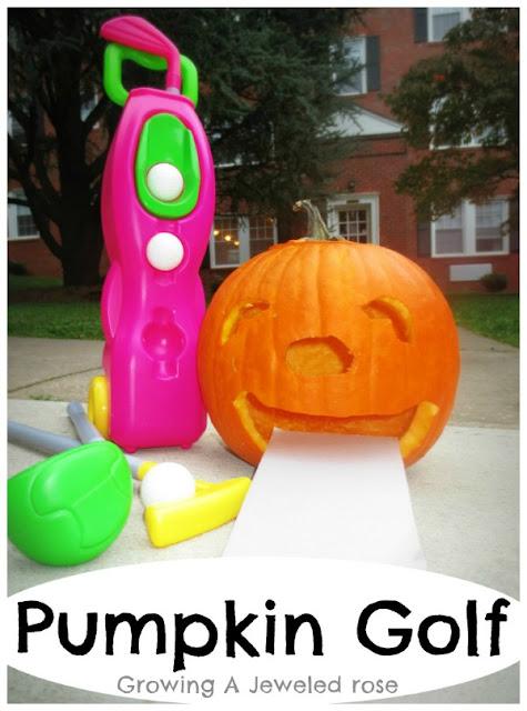 Pumpkin Golf Halloween Games