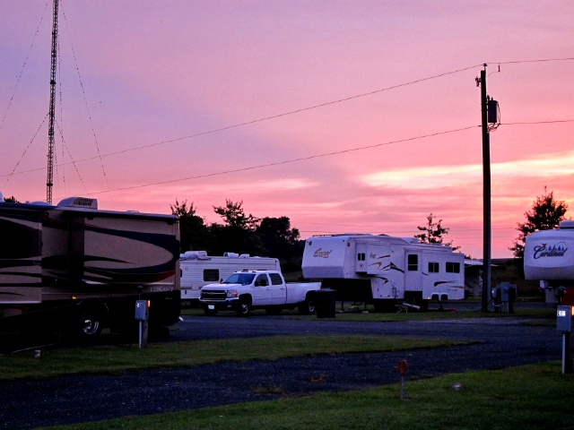 So We Are At Parkview Mobile Home And RV Park Its Okay With Long Wide Sites Full Hookups But Nothing Like The Ambience Of Pocahontas