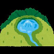 湧き水のイラスト