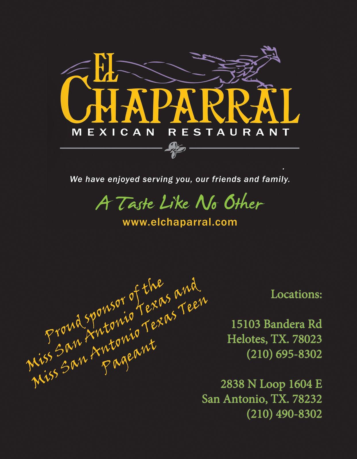 El Chaparral Mexican Restaurant
