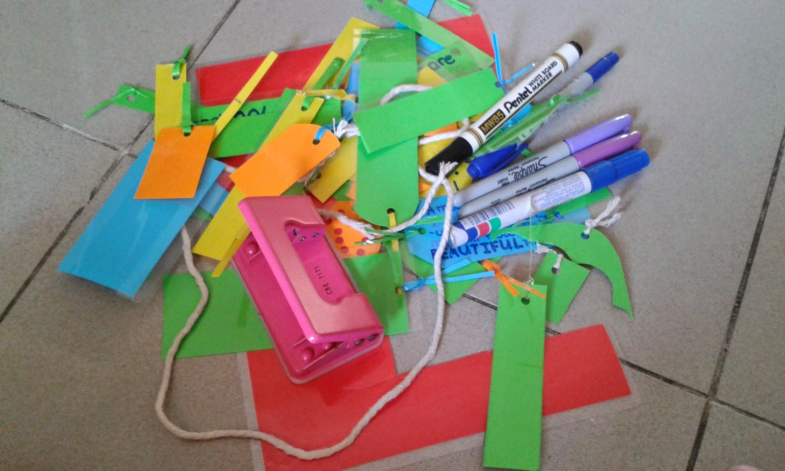 Recycle do it yourself rdiy how to make your own personalised all my bookmark making tools and materials solutioingenieria Images