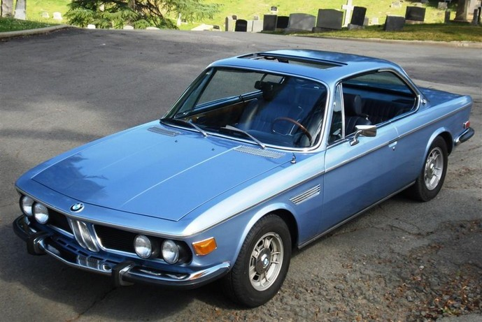 Sports Cars 1973 Bmw 3 0 Cs Coupe