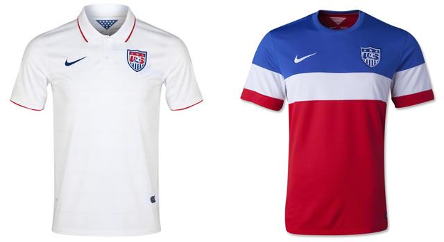 Camisetas selección USA Mundial 2014