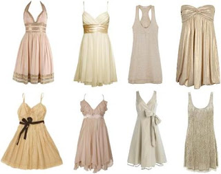 imagens de vestidos bege
