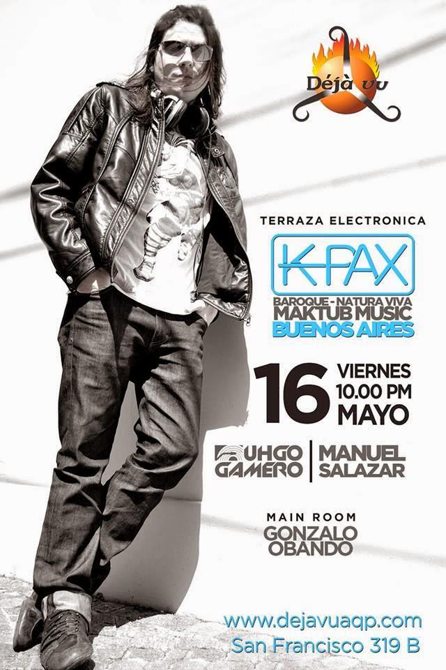 Martin K-Pax en Arequipa - 16 de mayo