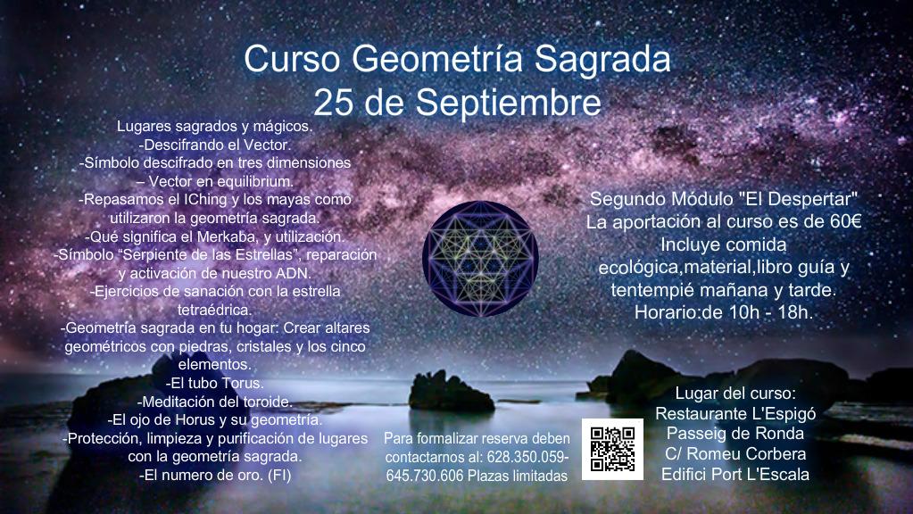 Curso Geometría Sagrada - Segundo módulo 25 de Septiembre 2016