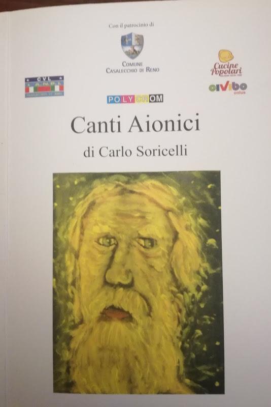 E' stato stampato il libro di poesie e scritti Canti, con riproduzioni di opere  di Carlo Soricelli