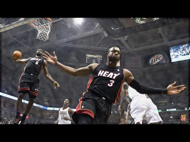d wade and lebron