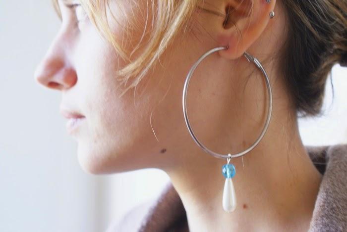 pendant diy hoops earrings diy