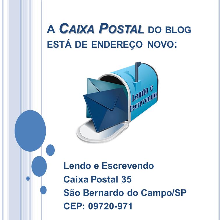 Novo Endereço da CAixa Postal