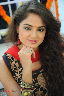 Asmita Sood Latest Pictures in Salwar Kameez at at Aa Aiduguru Movie Opening 0011