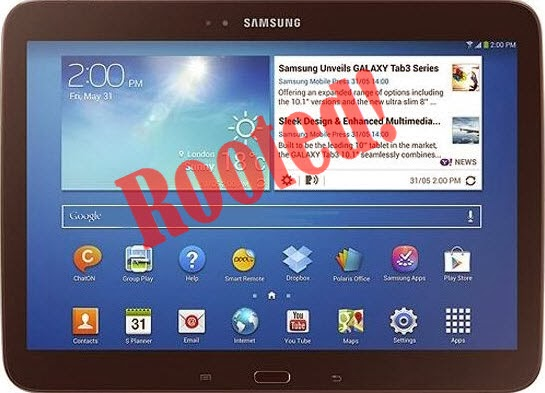 Root Galaxy Tab 3 10.1 GT-P5210