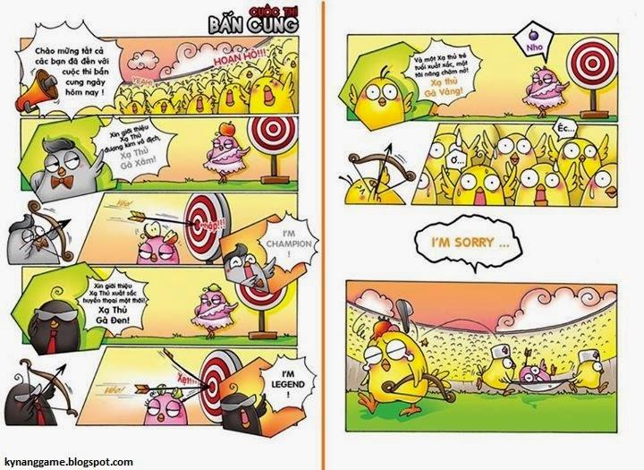Truyện tranh chế gunny: thiện xạ gà