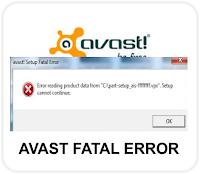 avast fatal error