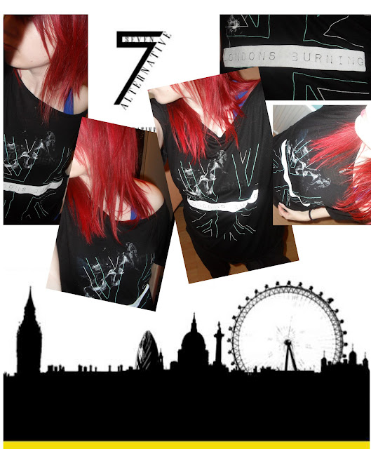 Alternative 7 tshirt collage