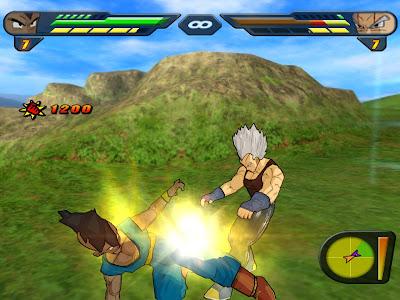 Dragon Ball Z Budokai Tenkaichi 2 PS2 Gameplay