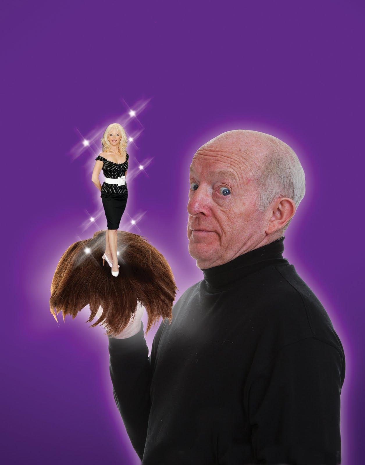 PAUL DANIELS. 'Hair Today Gone Tomorrow'. at Edinburgh Festival 2011