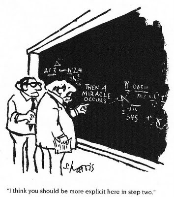 And then a miracle occurs
