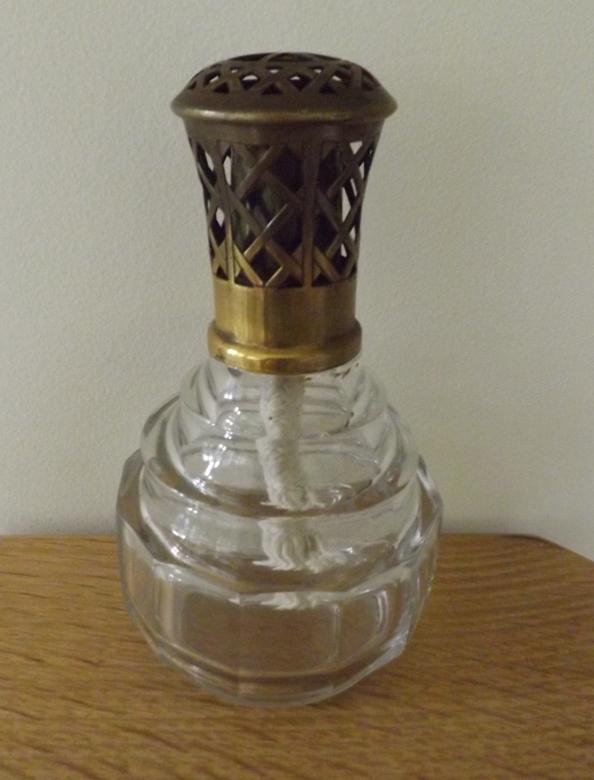 ... BACK TO BASICS: {1947-1952 Vintage French CR Crystal Lampe Berger