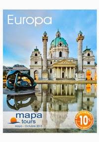 Catálogo Mapa Tours Europa Verano 2015
