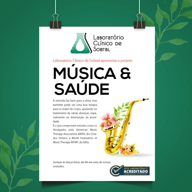 Música e Saúde - Laboraório Clínico de Sobral