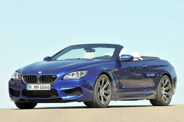 2013 BMW M6 Convertible Front Exterior Rear View