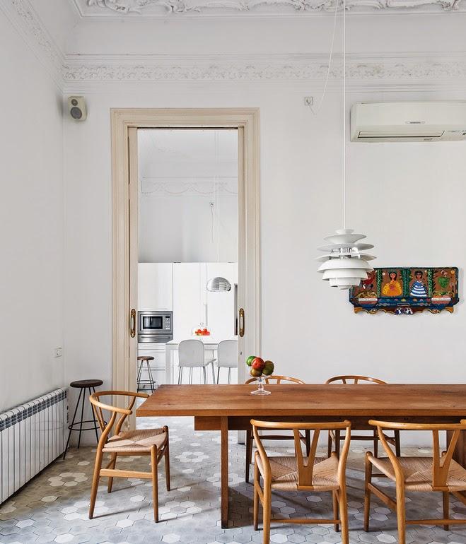 Decoraci n f cil una casa art nouveau en barcelona con for Decoracion art nouveau