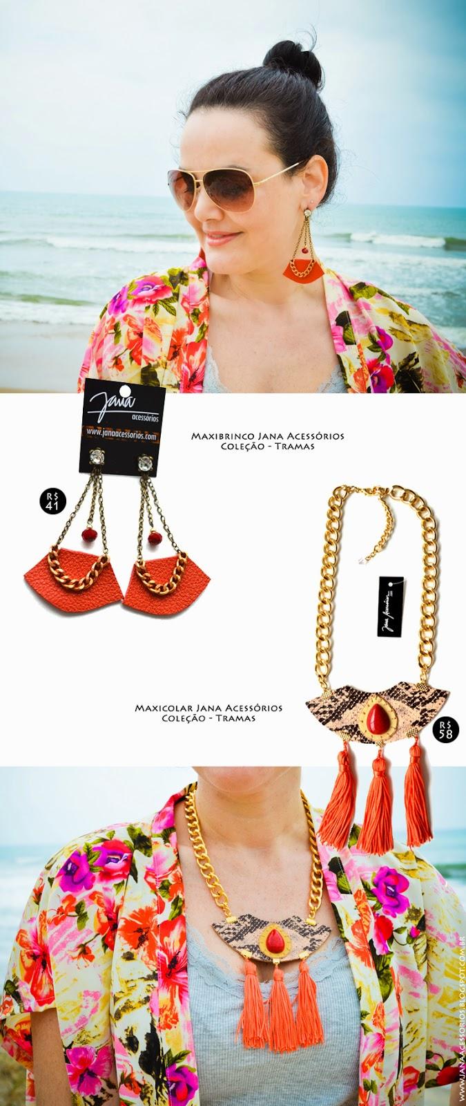 Blog da Jana, blogueira, joinville, blogger, acessórios, blog de acessórios, laranja, Jana Acessórios - Verão 2015